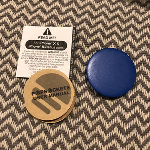Blue PopSocket | FREE WITH BUNDLE